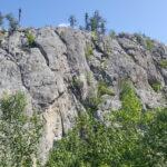 Le mont Duprat dans les collines d'Alembert