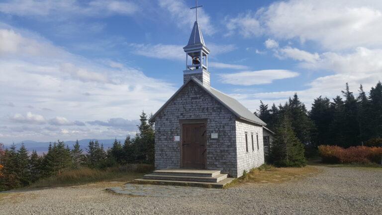 Chapelle au sommet du mont Saint-Joseph
